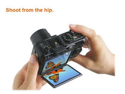 Flipback : Angle Viewfinder for Digital Cameras