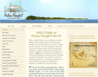 Rent an Private Island Near to Singapore
