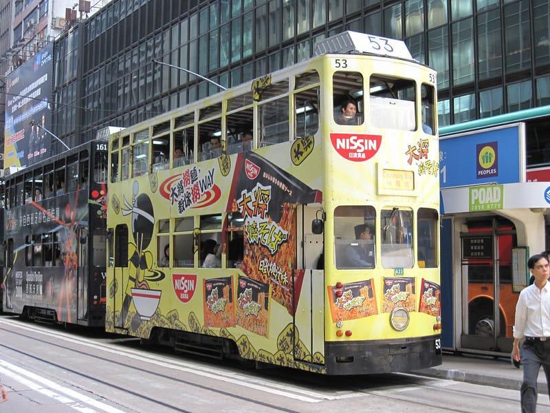 Hong Kong: Riding the Ding Ding Tram