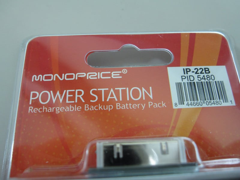 Monoprice iPhone Backup Battery Pack