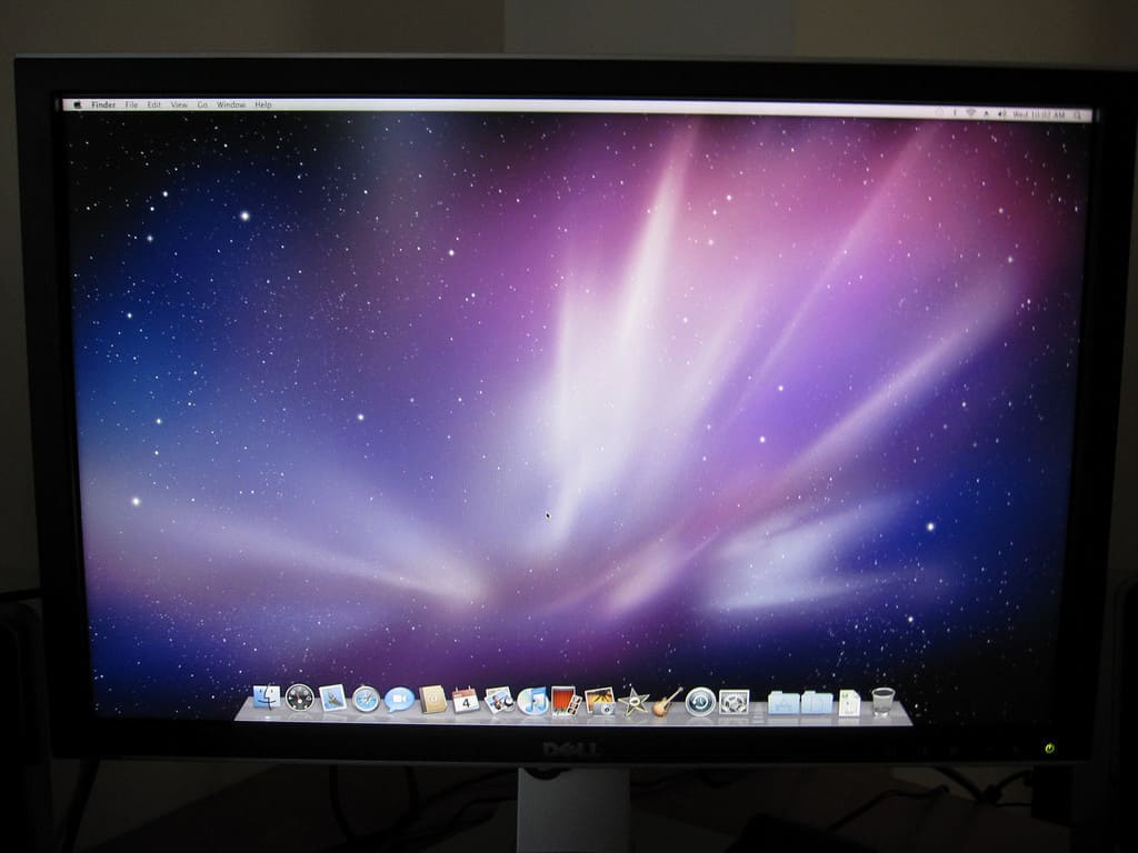 My First Impression of Mac Mini with Dell 2408WFP