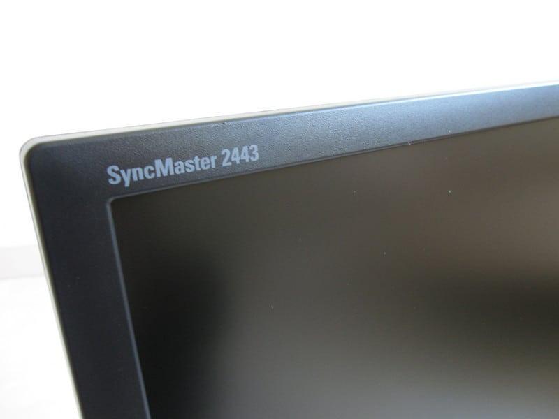 Samsung 2443BW LCD Monitor