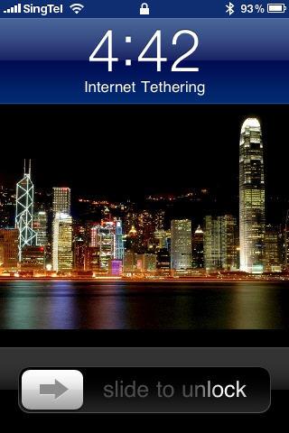 iPhone 3GS Internet Tethering on Windows 7