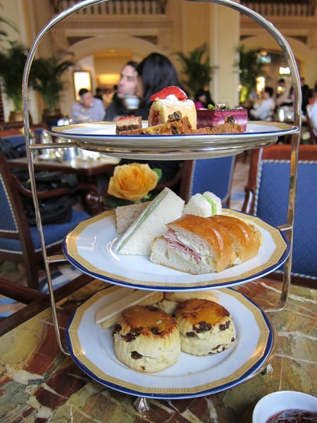 Afternoon Tea at The Peninsula Hong Kong