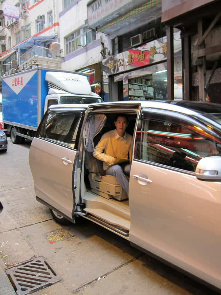 I was a Paparazzi for a few minutes in Hong Kong