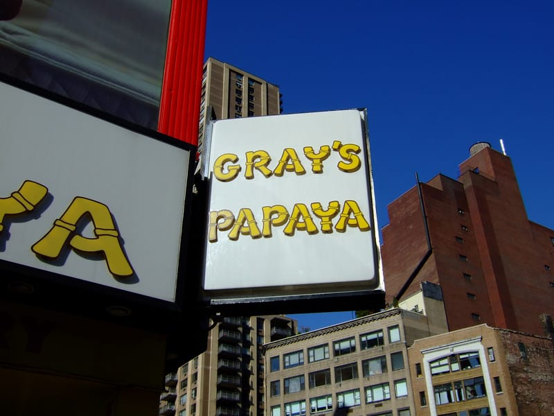 Grey's Payaya and then to Central Park