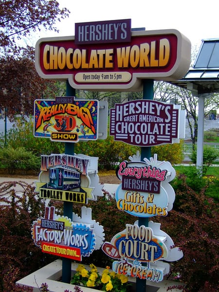 Hershey Chocolate Factory at Harrisbury