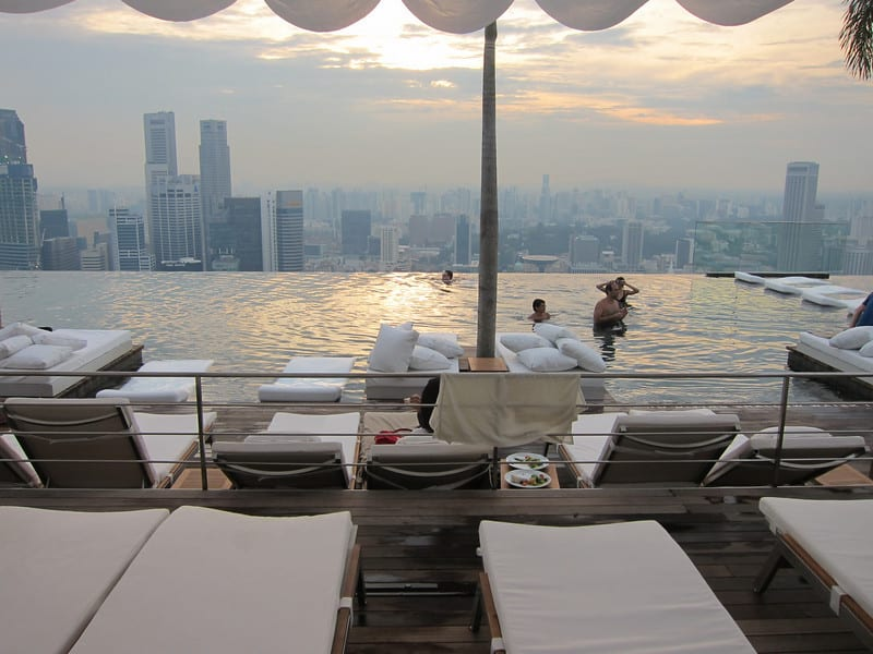 Marina Bay Sands Sky Park Swimming Pool