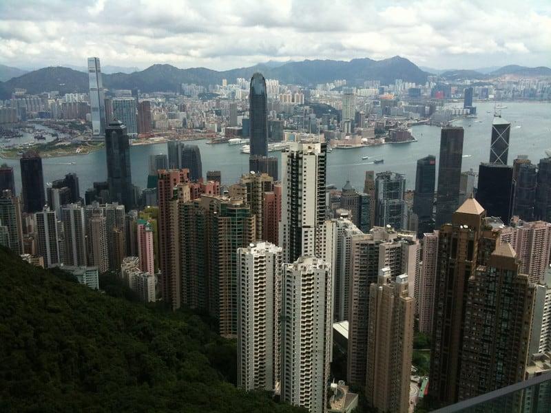 Hong Kong Peak and Bus 15 or Bus 15C