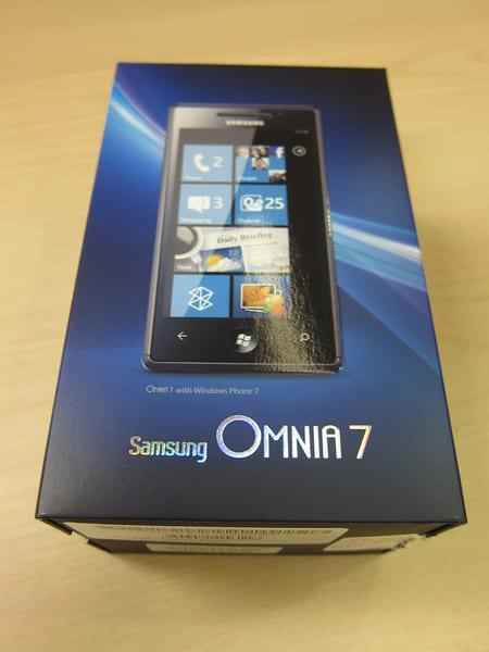 Samsung Omnia 7 Windows Phone