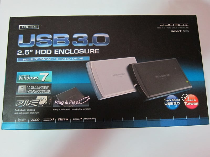 Probox HDG-SU3 USB 3.0 HDD Enclosure