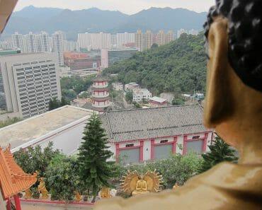 萬佛寺 Man Fat Sze Pagoda