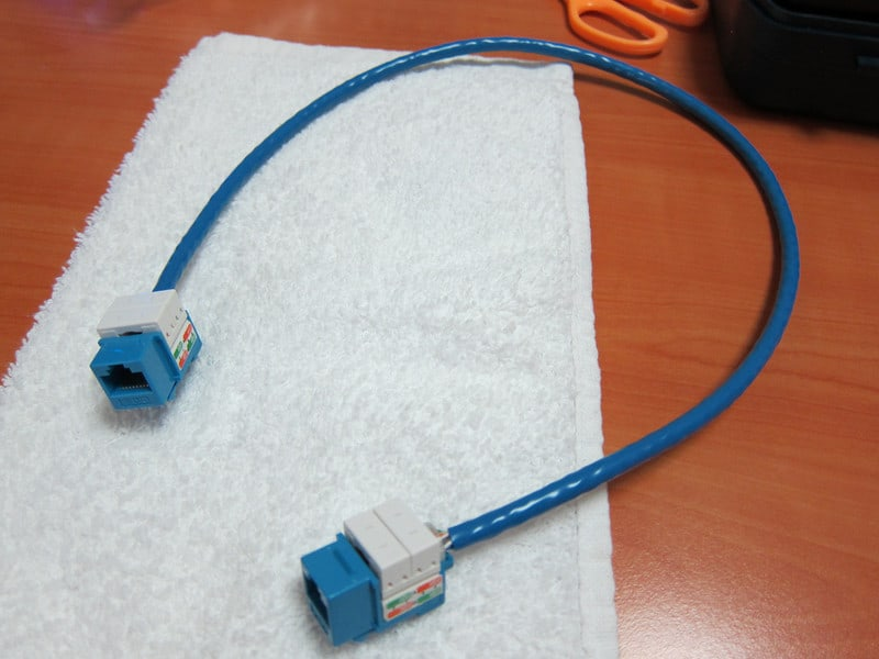 Fun Post : Making my own CAT6 extension cable