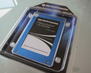 Unboxing OWC Data Doubler and OWC 60GB SSD