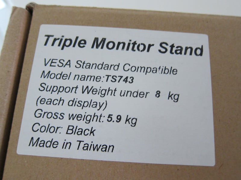 Jiaying Triple Monitor Stand TS743