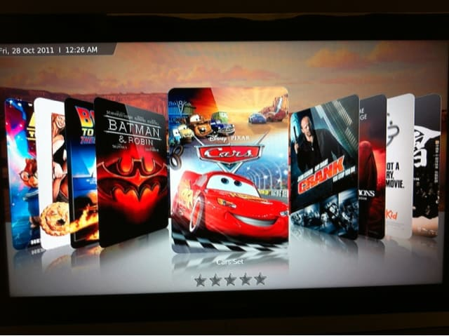 Movies on XBMC in Apple TV2