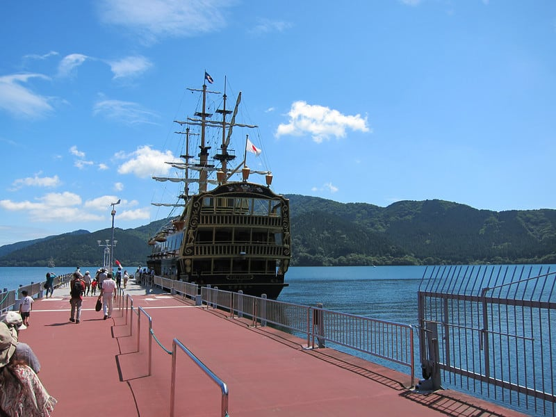 Hakone Free Pass Lake Ashi Boat Ride