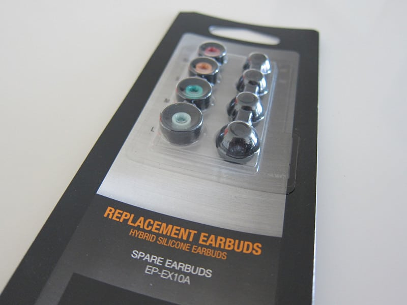 Sony EPEX10A/BLK Hybrid Replacement Earbuds