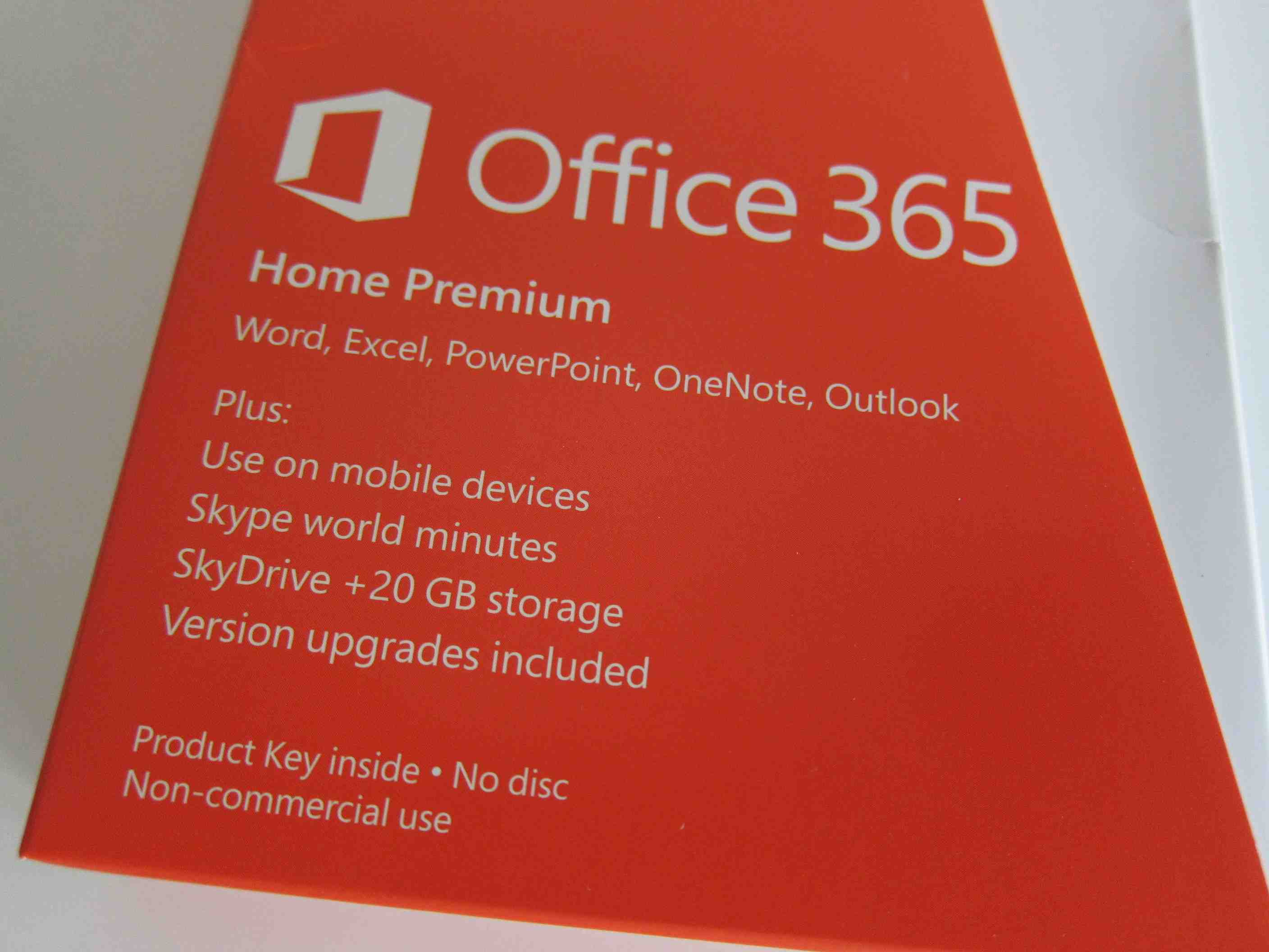 office 365 home premium box patnotebook. Black Bedroom Furniture Sets. Home Design Ideas