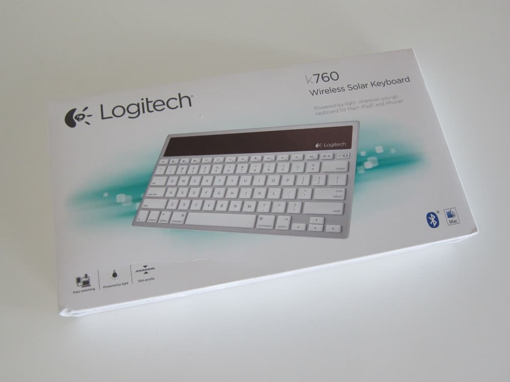 Logitech Wireless Solar Keyboard K760 for Mac:iPad:iPhone