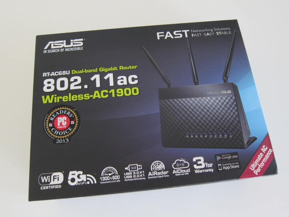 ASUS RT-AC68U Wireless-AC1900 Dual-Band Gigabit Router