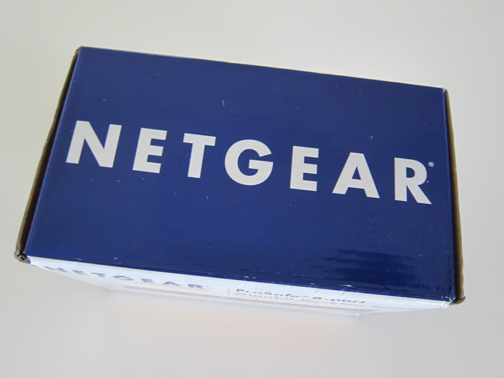 NETGEAR GS108NA ProSafe 8-Port Gigabit Ethernet Desktop Switch