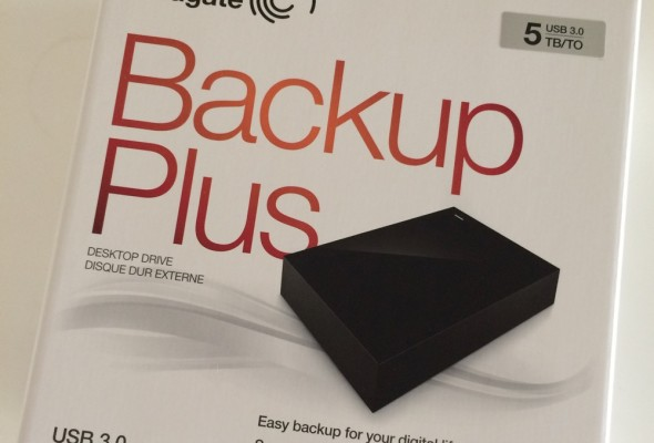 Seagate 5TB Backup Plus External Hard Disk