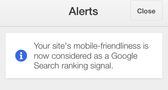 Google Adsense Warns Mobile Friendly