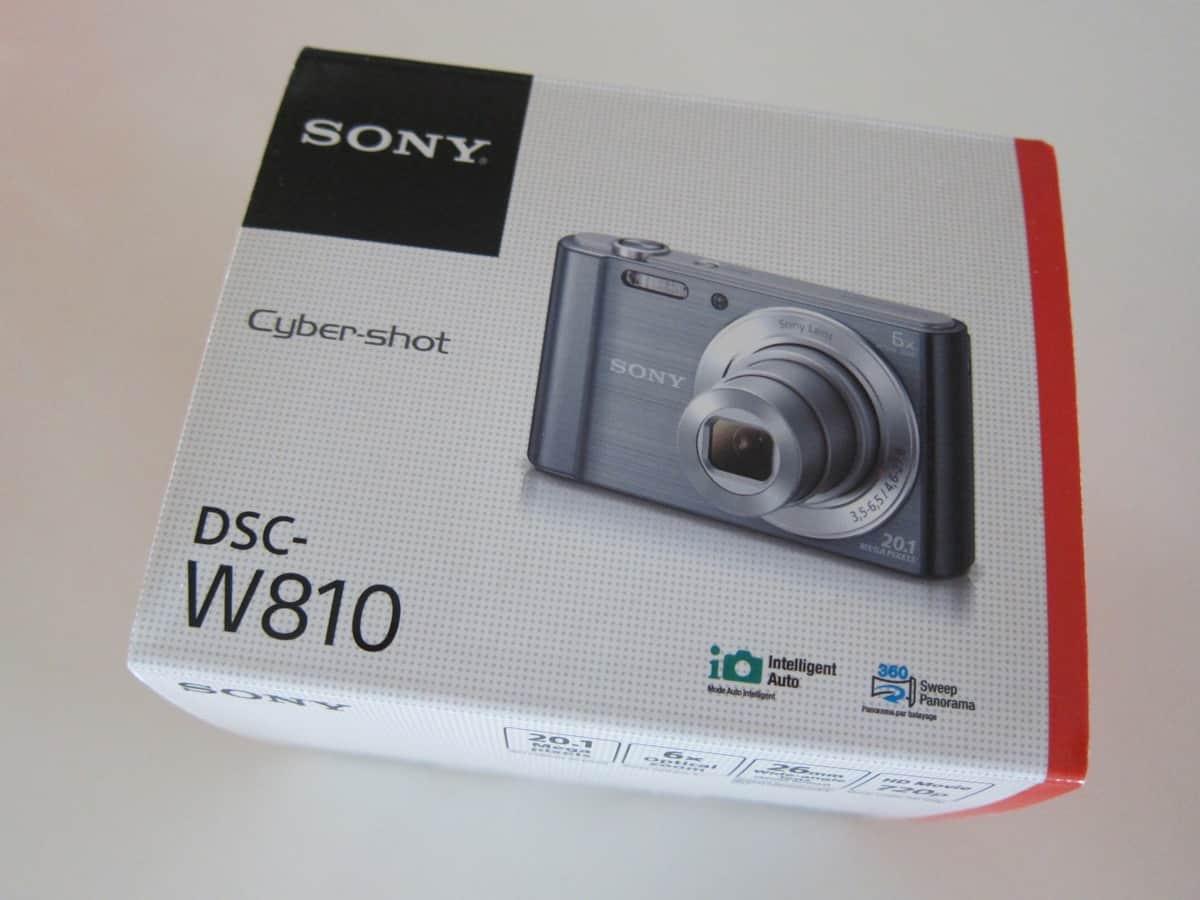 Sony Cybershot W810 Digital Camera Patnotebook