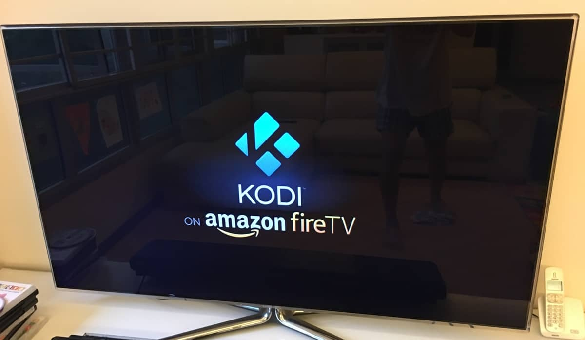 Kodi Amazon Fire TV SplashScreen