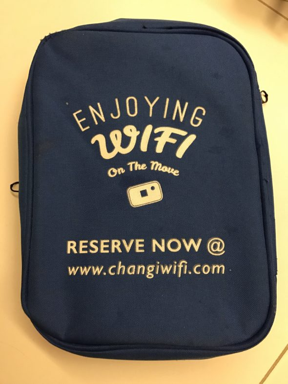 Changi Recommends Portable Wireless Router
