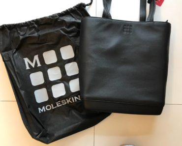 Moleskin Classic Leather Tote Bag