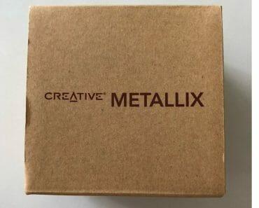 Creative Metallix Bluetooth Speakers