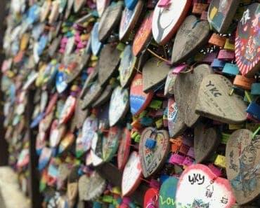 Lock of Love Cheung Chau