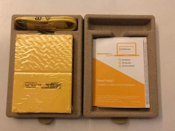 WD My Passport 4TB Portable Hard Disk