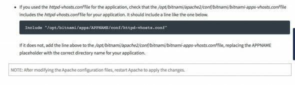 Bitnami Redirect Instructions 2