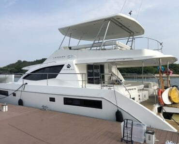 CHARTER ME TOO 51′ Luxury Power Catamaran