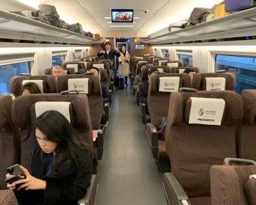 First Class China Train Tickets from Shanghai to Beijing