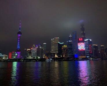 Shanghai Bund By Night