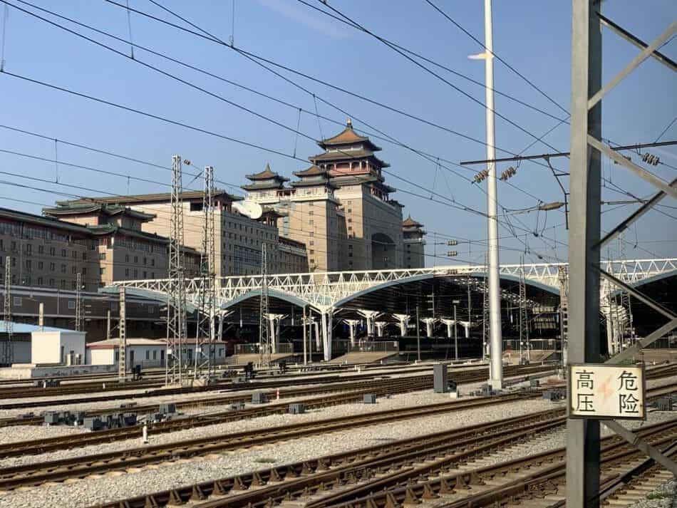 Beijing West Train Station