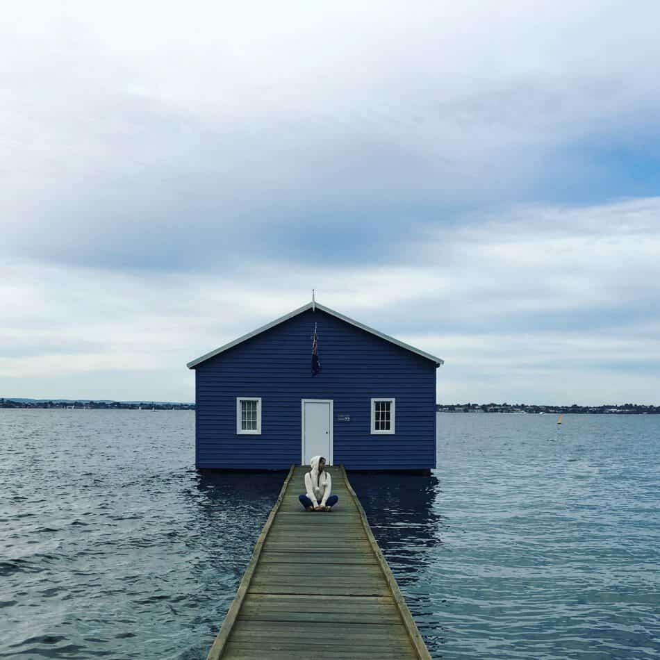 Instagram photo style at Blue Boat House