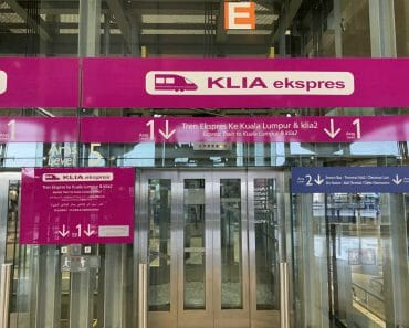 KLIA Express Train to KLIA Airport