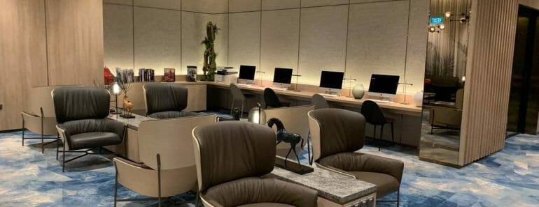 Changi Lounge, Jewel Changi Airport Singapore
