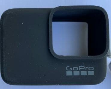 GoPro Sleeve and Lanyard in Blacka