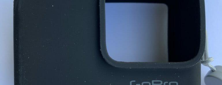 GoPro Sleeve and Lanyard in Blacka