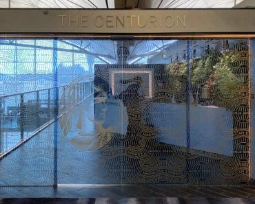 AMEX Centurion Lounge Hong Kong