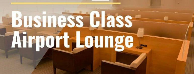 Fukuoka Airport Business Class Lounge
