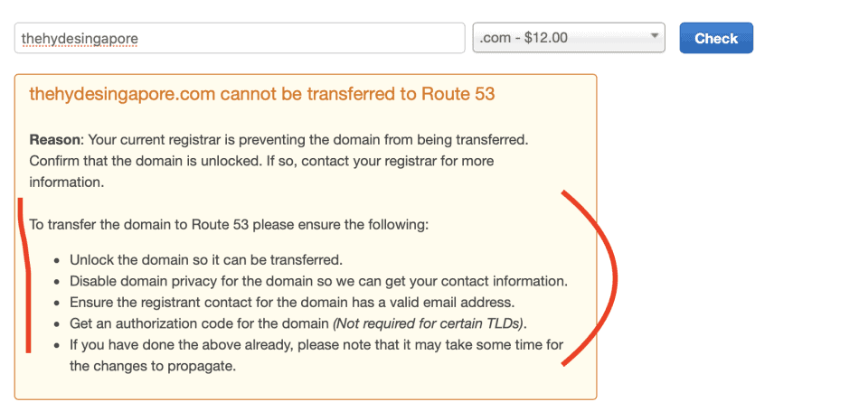 You cannot transfer a domain without unlocking it