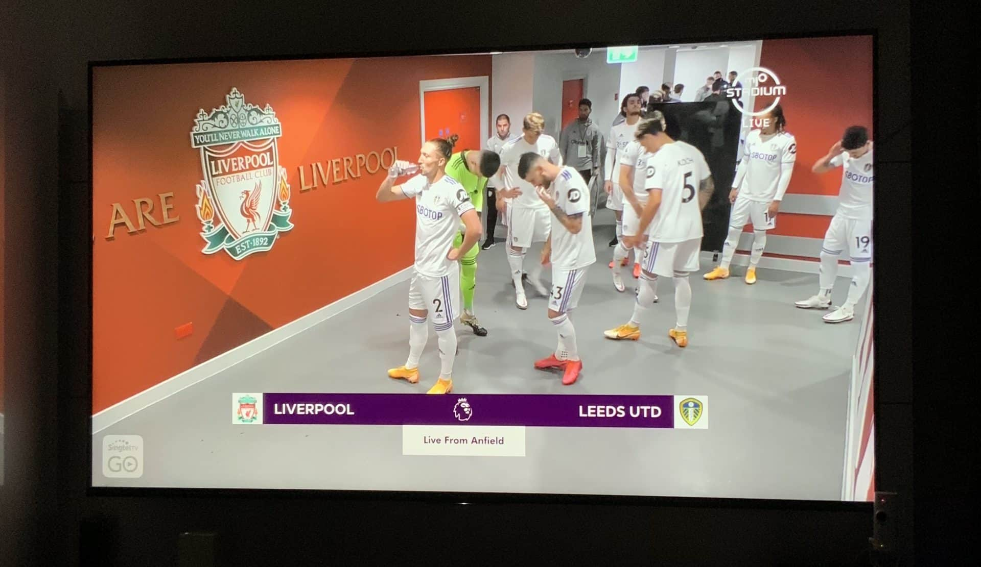 Liverpool vs Leeds 13th Sep 2020