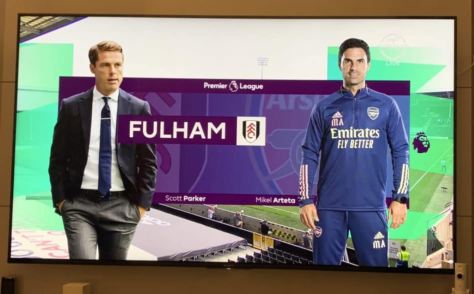 2020/2021 EPL Season kick off with Fulham vs Arsenal. As seen on CAST